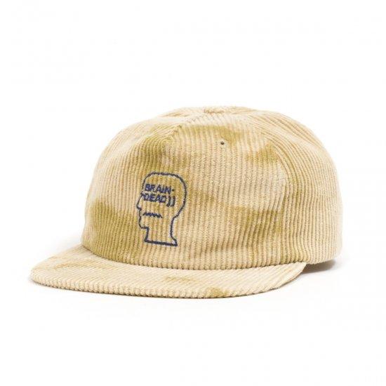 BRAIN DEAD / BLEACH CORD LOGO HEAD 5 PANEL CAP