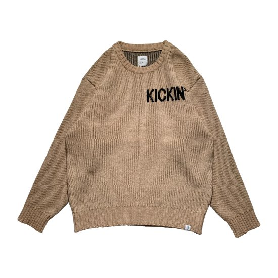 """BEDWIN & THE HEARTBREAKERS / L/S C-NECK JACQUARD SWEATER """"WRIGHT"""""""