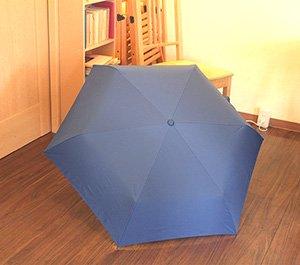 ネイビー折りたたみ傘(傘袋付き)