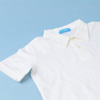 半袖ポロシャツ・白