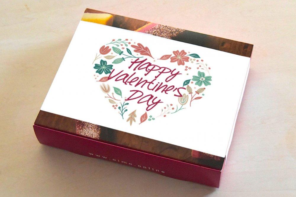 生スイートポテト<br />バレンタインの6個ボックス