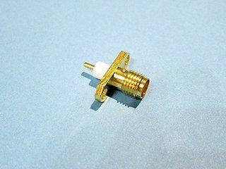 SMA-R2 2穴 テフロン4mm コネクター パネル用 トーコネ