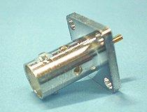 BNC-R 4穴フランジ パネル用