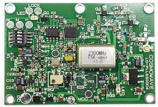 2274MHz帯ローカル発振基板 4cH 24GHz用