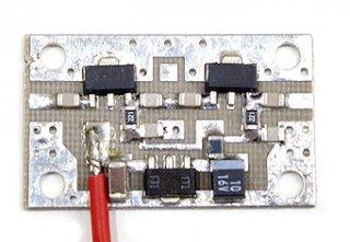 広帯域アンプ パーツ実装基板 LPA-G39W�C