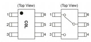 半導体RFリレー CG2409M2 3.8GHz
