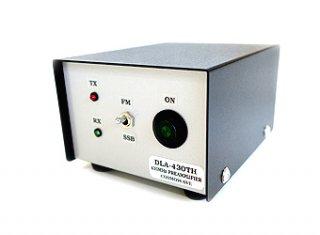 卓上型プリアンプ 430MHz帯 BPF内蔵型