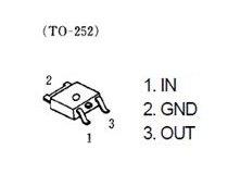 3端子レギュレーター 6V 1A SMD NJM7806DL1A