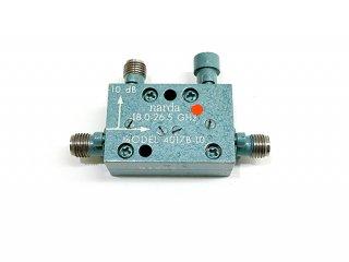 高性能広帯域カップラー MODEL4017B 18.0〜26.5GHz 10dB 中古 narda