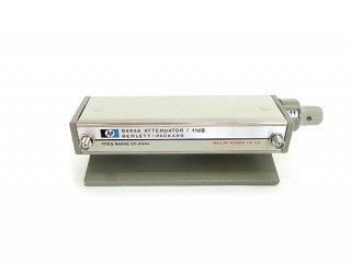 高周波ステップ・アッテネーター 11dB 8494A 中古 HP/Agilent