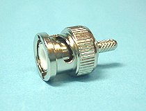 BNCP-2.5DA 2.5D-2V用 圧着タイプ 同軸ケーブル用 BNC型オス・コネクター