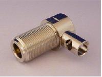 N-5WL-P 5D-2W 用 同軸ケーブル用 Nメス・モービルコネクター