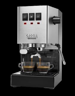 新品(新デザイン)GAGGIA NEW CLASSIC (200Vタイプ) イタリア製エスプレッソ 家庭用マシンの原点&傑作�