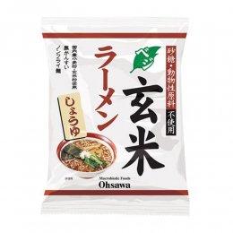 オーサワ ベジ玄米ラーメン しょうゆ 112g(麺80g)