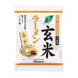 オーサワ ベジ玄米ラーメン みそ 118g(麺80g)