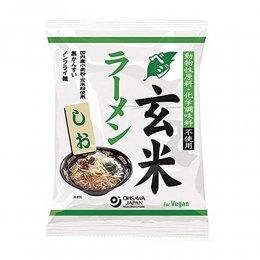 オーサワ ベジ玄米ラーメン しお 112g(麺80g)