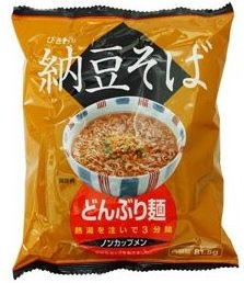 トーエイ食品 どんぶり麺ひきわり納豆そば 81.5g