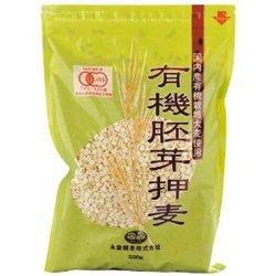 永食精麦 有機胚芽押麦 500g