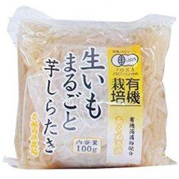 グリーンリーフ 有機ミニ生芋しらたき 100g