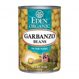 EDEN 有機ひよこ豆の缶詰 425g