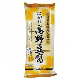 ムソー にがり高野豆腐(有機大豆使用) 6枚