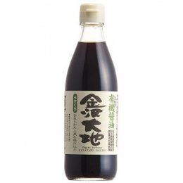 金沢大地 有機醤油うすくち  360ml