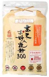 南出製粉 玄米お好み焼き粉 300g