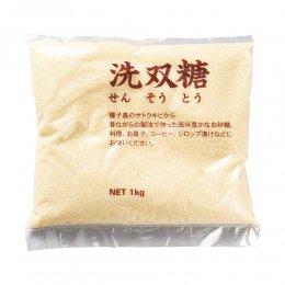 ビオマーケット 洗双糖(粗製糖) 1kg