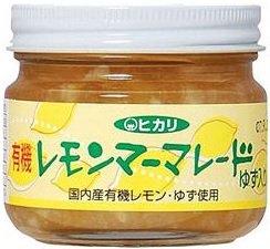 光食品 有機レモンマーマレード 130g