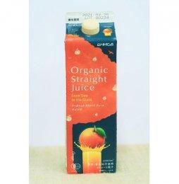 ムソー 有機ストレートジュース オレンジ 1000ml