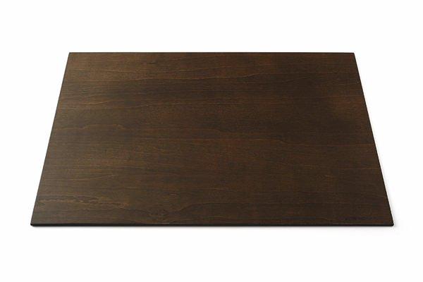 ランチョンマット 42cm 長 ダークブラウン
