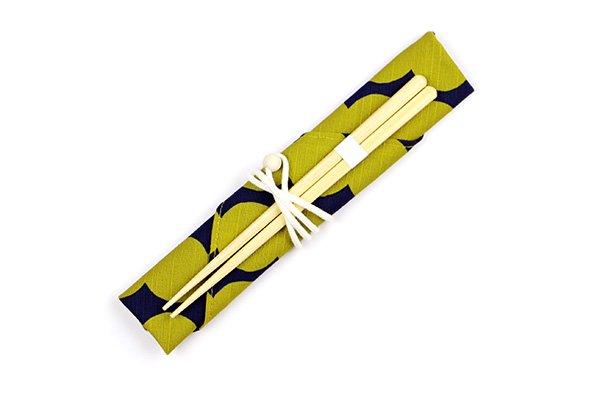箸・箸袋セット ミズタマ
