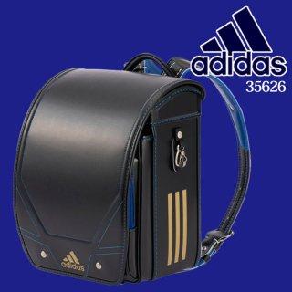 adidasアディダランドセル ブラック/トゥルーブルー