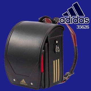 adidasアディダスランドセル ブラック/スカーレット