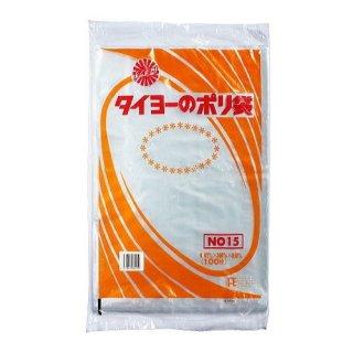 ポリ規格袋0.02 No.15(1000枚入)【06003008】