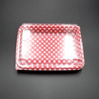 エスコンUL-83-5 W114 赤チェックセット(50セット入)【11916917/11916918】