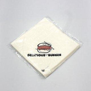 バーガー袋No.18 デリシャス (100枚入)【11916900】