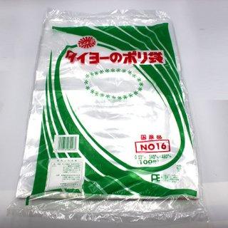 ポリ規格袋0.03No16(500枚)【06003075】
