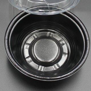 【丼A】MFPホット麺18小(60)黒W(50枚入り)【00370210】