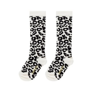 <img class='new_mark_img1' src='https://img.shop-pro.jp/img/new/icons14.gif' style='border:none;display:inline;margin:0px;padding:0px;width:auto;' />maed for mini / Knee Socks / White Leopard AOP