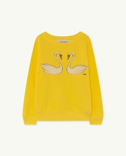 <img class='new_mark_img1' src='https://img.shop-pro.jp/img/new/icons14.gif' style='border:none;display:inline;margin:0px;padding:0px;width:auto;' />THE ANIMALS OBSERVATORY / BEAR KIDS SWEATSHIRT / Yellow Swans