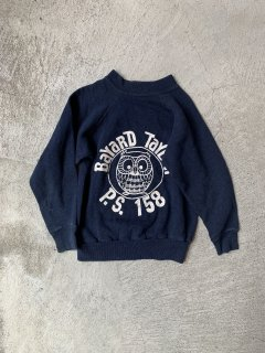 <img class='new_mark_img1' src='https://img.shop-pro.jp/img/new/icons14.gif' style='border:none;display:inline;margin:0px;padding:0px;width:auto;' />vintage / kids sweat / navy