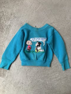 <img class='new_mark_img1' src='https://img.shop-pro.jp/img/new/icons14.gif' style='border:none;display:inline;margin:0px;padding:0px;width:auto;' />vintage / kids sweat / snoopy /  blue