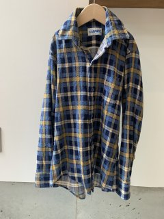 <img class='new_mark_img1' src='https://img.shop-pro.jp/img/new/icons14.gif' style='border:none;display:inline;margin:0px;padding:0px;width:auto;' />vintage / shirt / long sleeve /  check / blue