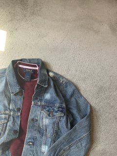 <img class='new_mark_img1' src='https://img.shop-pro.jp/img/new/icons14.gif' style='border:none;display:inline;margin:0px;padding:0px;width:auto;' />vintage / DENIM JACKET / Levis / XS