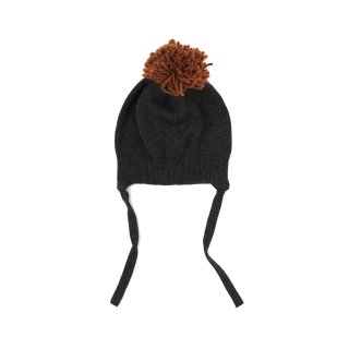 <img class='new_mark_img1' src='https://img.shop-pro.jp/img/new/icons14.gif' style='border:none;display:inline;margin:0px;padding:0px;width:auto;' />Phil&phae /Pompon baby hat / charcoal melee
