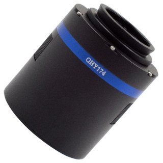 QHY174C冷却CMOSカメラ(1/1.2インチ230万画素12bitカラーCMOS)