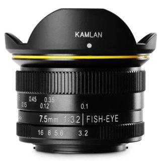 KAMLAN(カムラン)7.5mmF3.2(MFT)