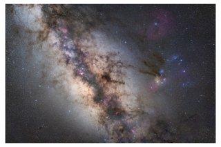 天の川の写真プリント(A4サイズ安価版)