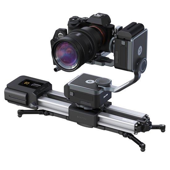 <img class='new_mark_img1' src='https://img.shop-pro.jp/img/new/icons15.gif' style='border:none;display:inline;margin:0px;padding:0px;width:auto;' />Zeapon Micro2plus電動カメラスライダー + PONS PT電動式パンヘッド(チルト・パン)&アーム(PD-E1)フルセット(1年保証付き)